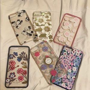 Kate spade case. iPhone 7/8 plus.
